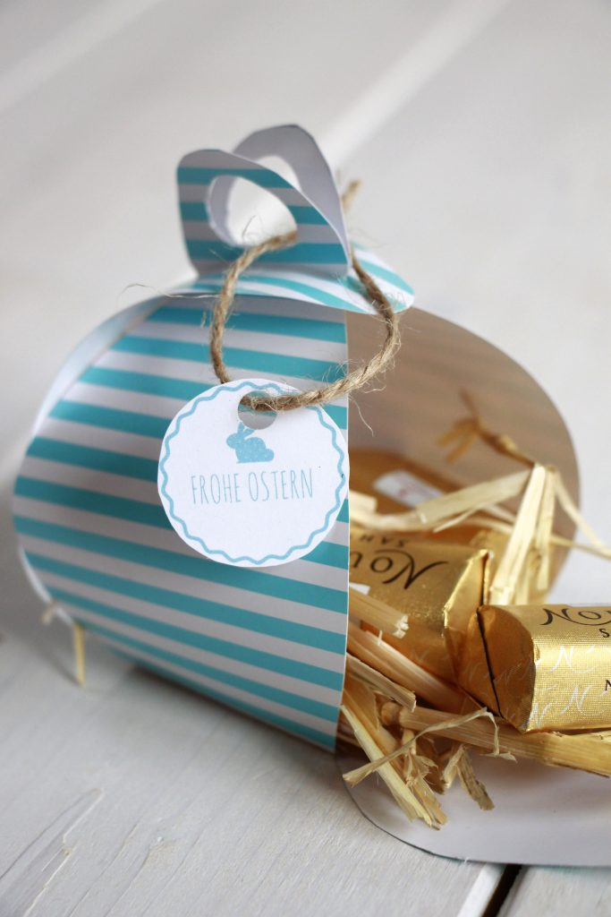 Geschenkbox falten Anleitung