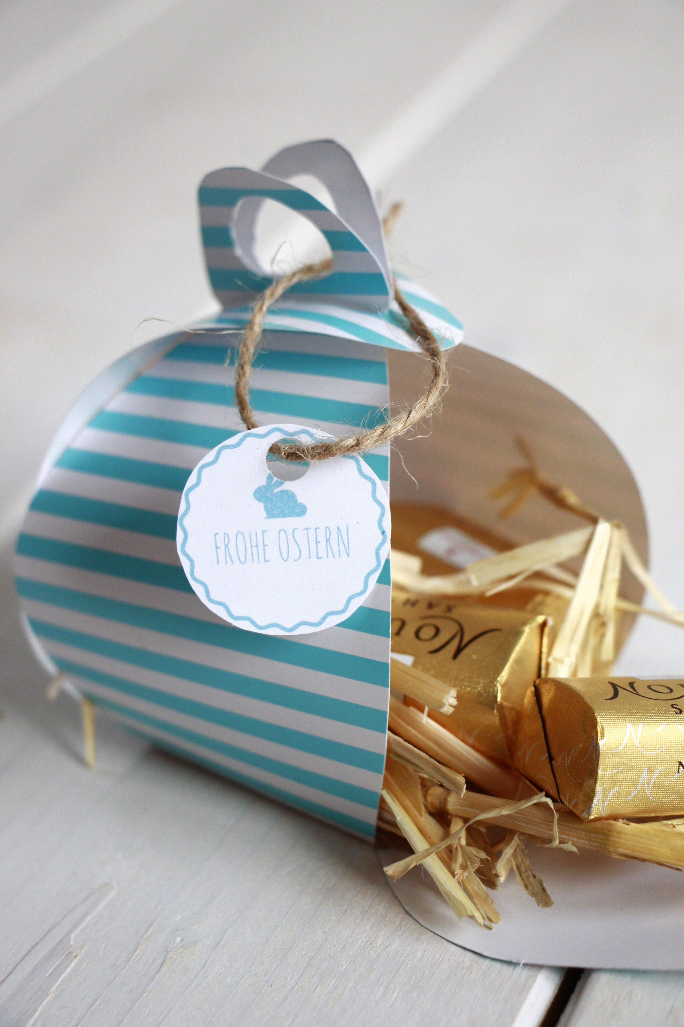 Geschenkbox Vorlage - Lavendelblog