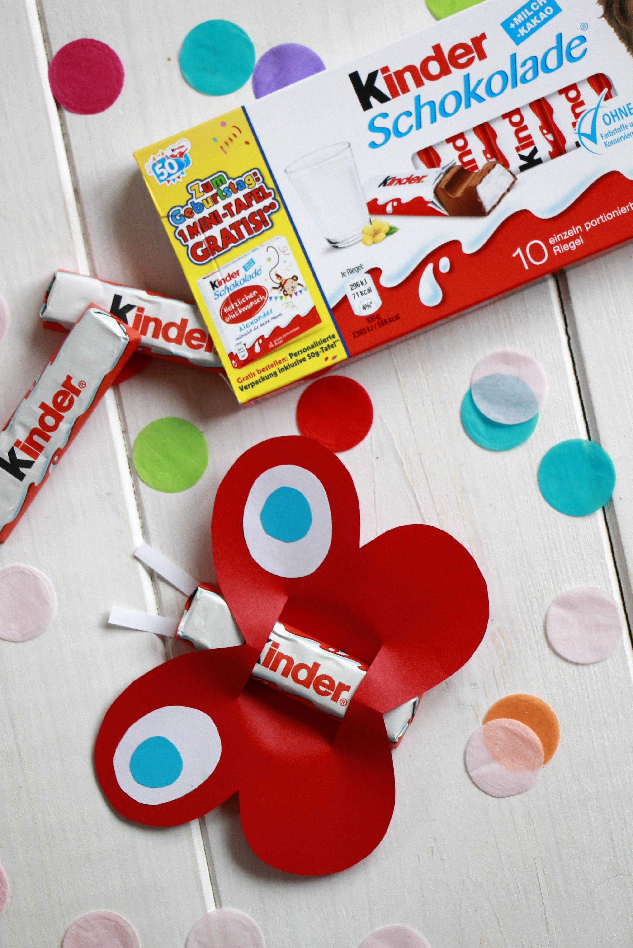 Mitgebsel Kindergarten Geburtstag Ferrero Kinder Schokolade