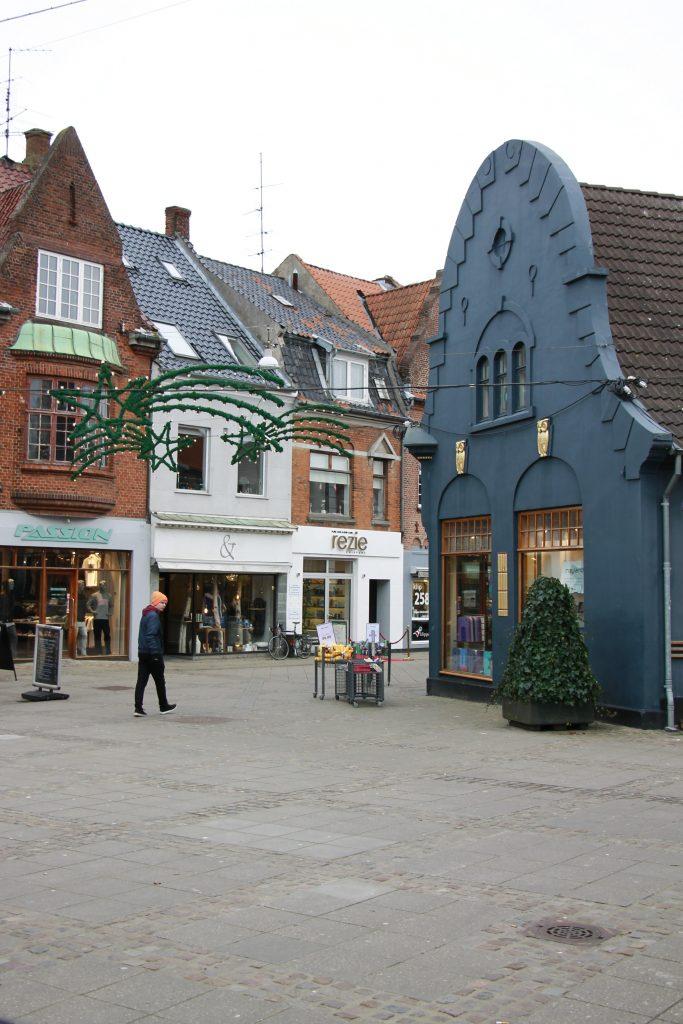 Nykøping Falster Dänemark Innenstadt