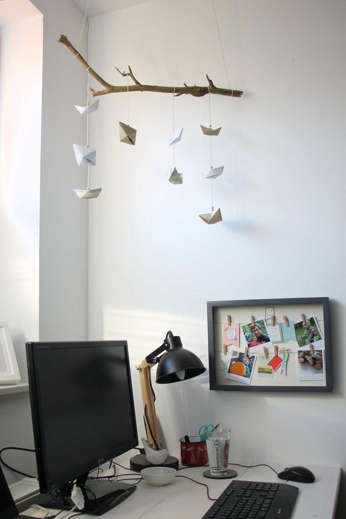 Origami Mobile basteln Ideen