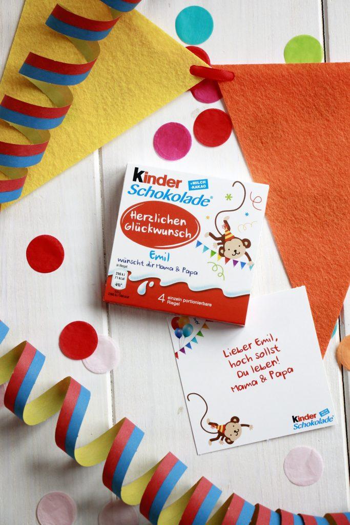 gratis kinder Schokolade Aktion Ferrero
