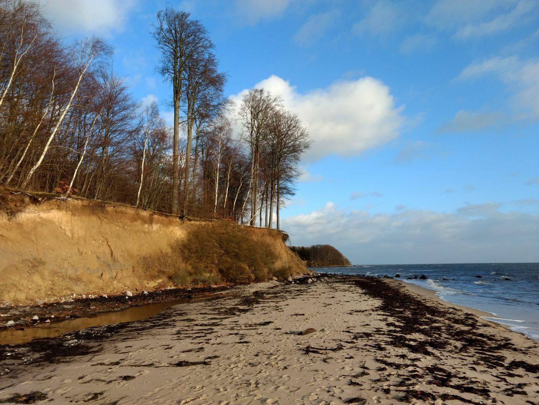 schöner Strand auf Falster