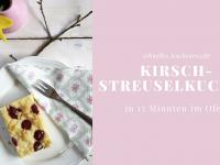 Schnelles Rezept: Kirsch-Streuselkuchen mit Quark
