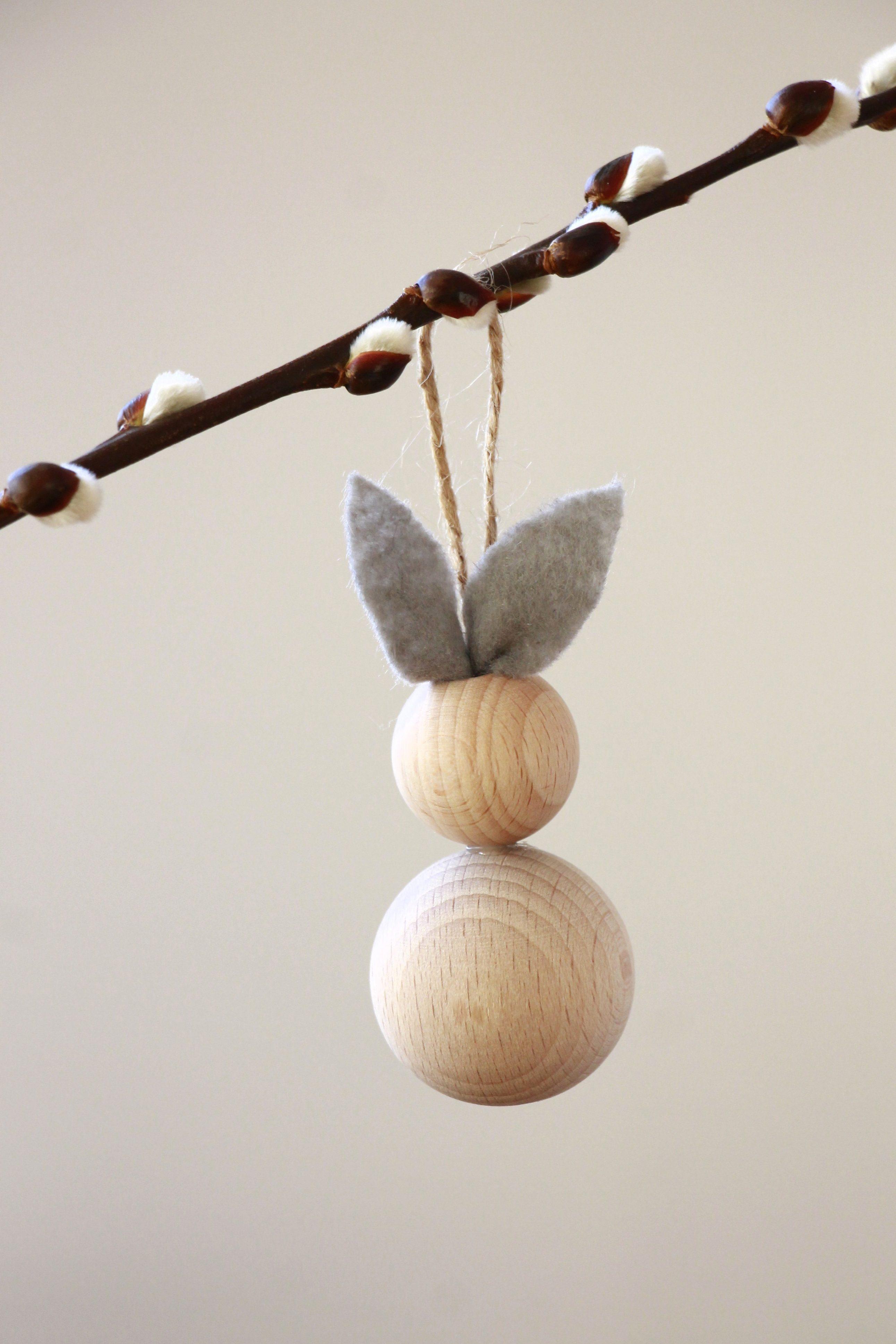 Vorherige · Nächste · Bastelidee Ostern Holz Osterhase