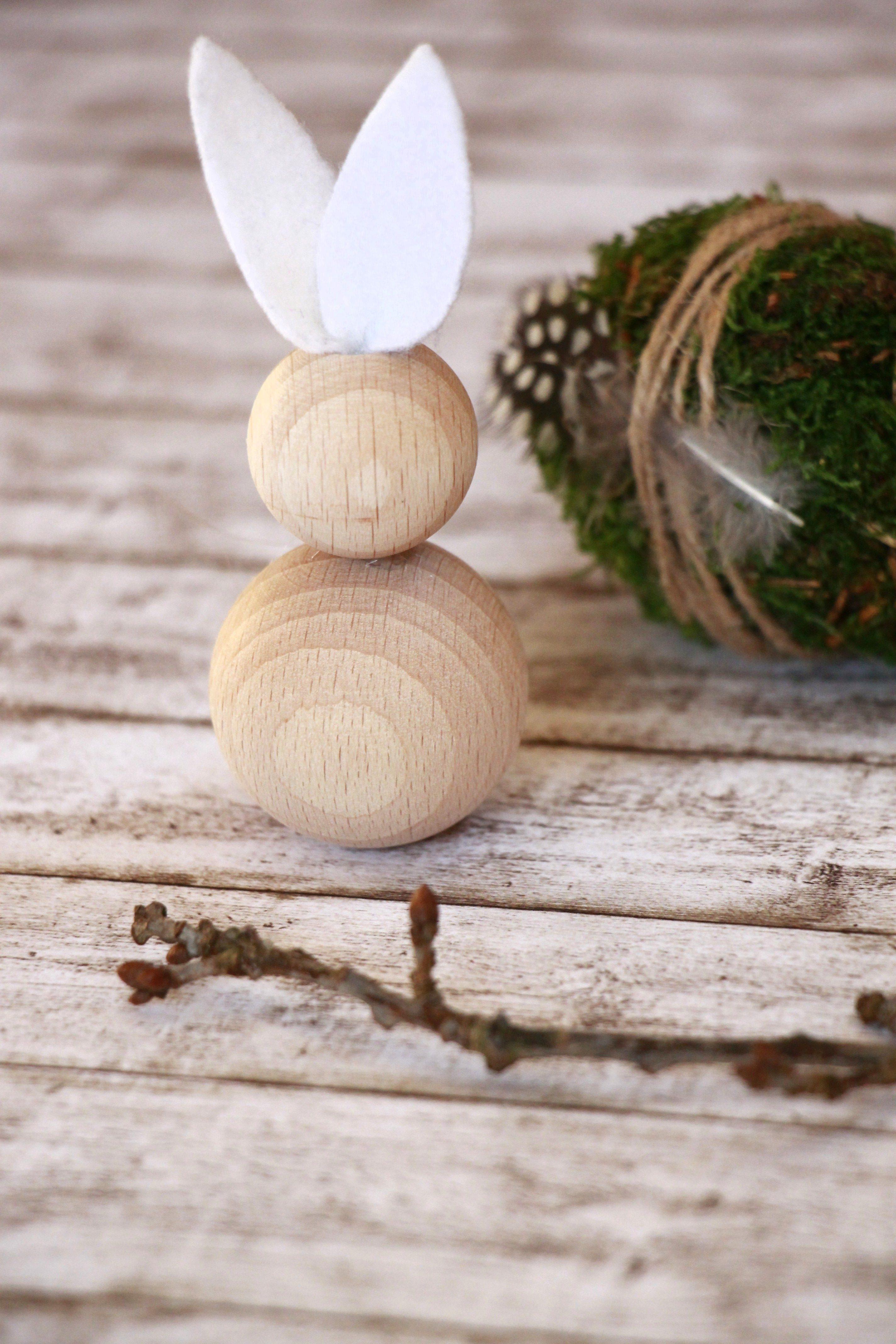 Osterhase Aus Holz Basteln Ideen