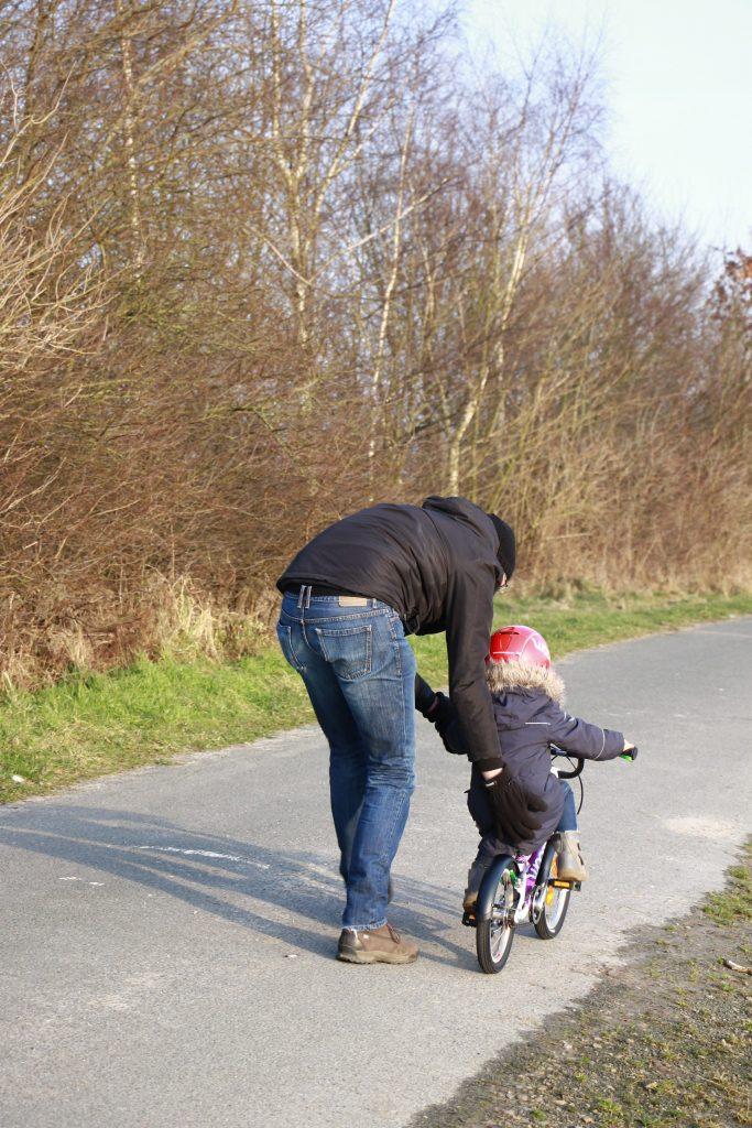 Radfahren üben Tipps