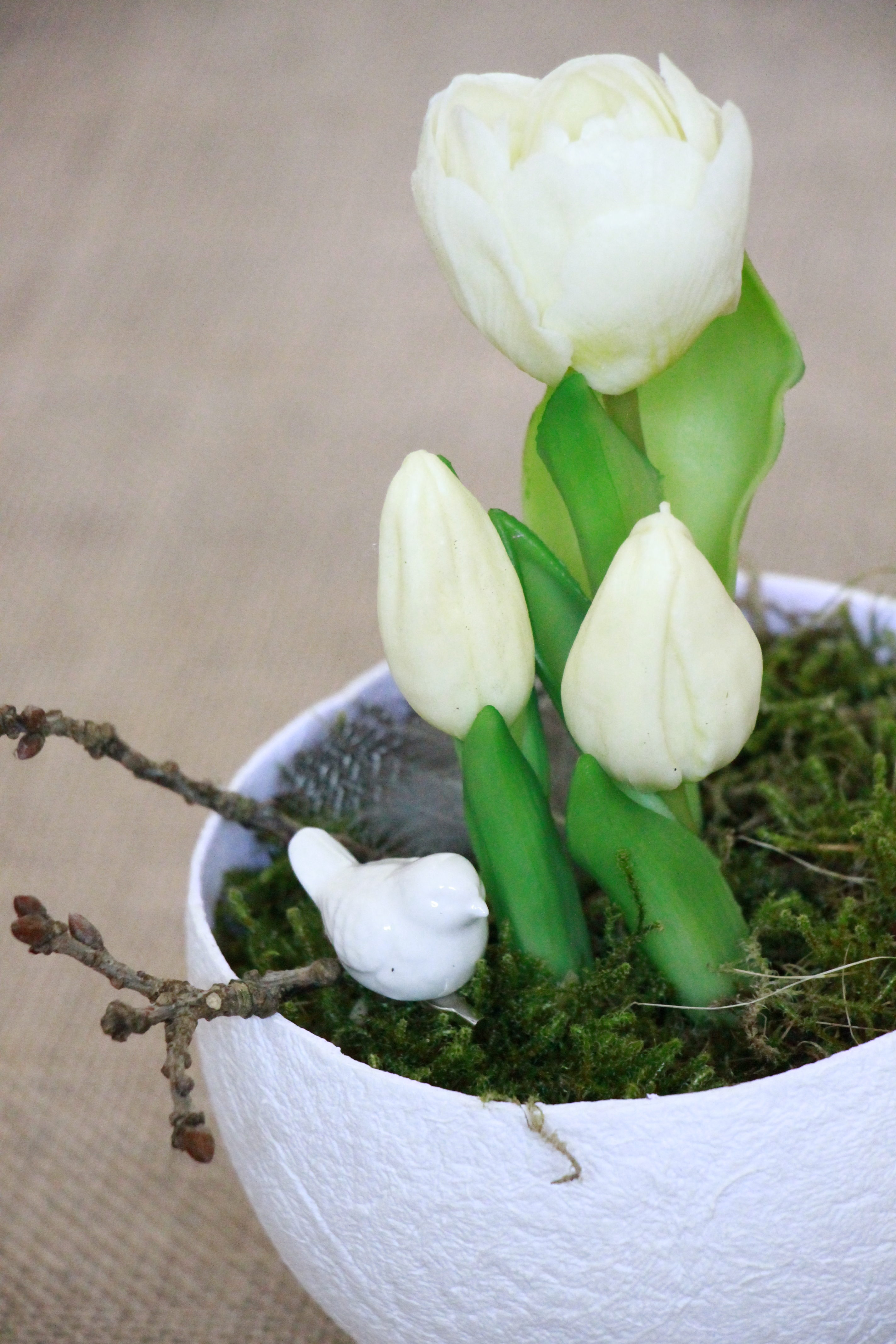 Tischdeko Taufe Idee Lavendelblog