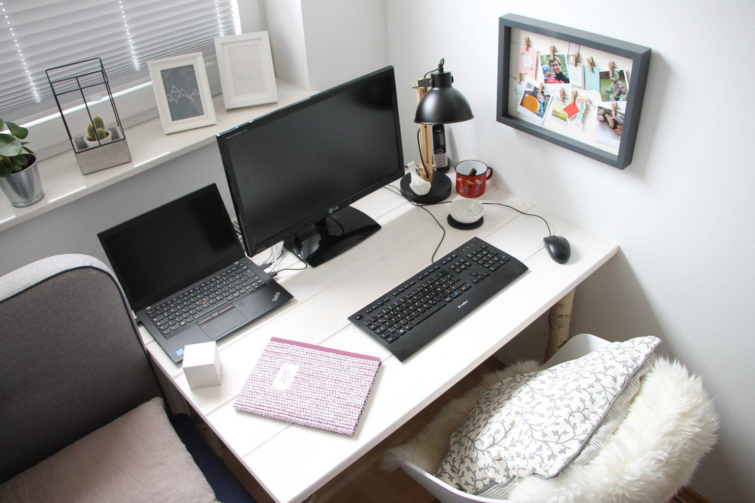 Scandi schreibtisch selber bauen anleitung f r einen for Schreibtisch im schlafzimmer