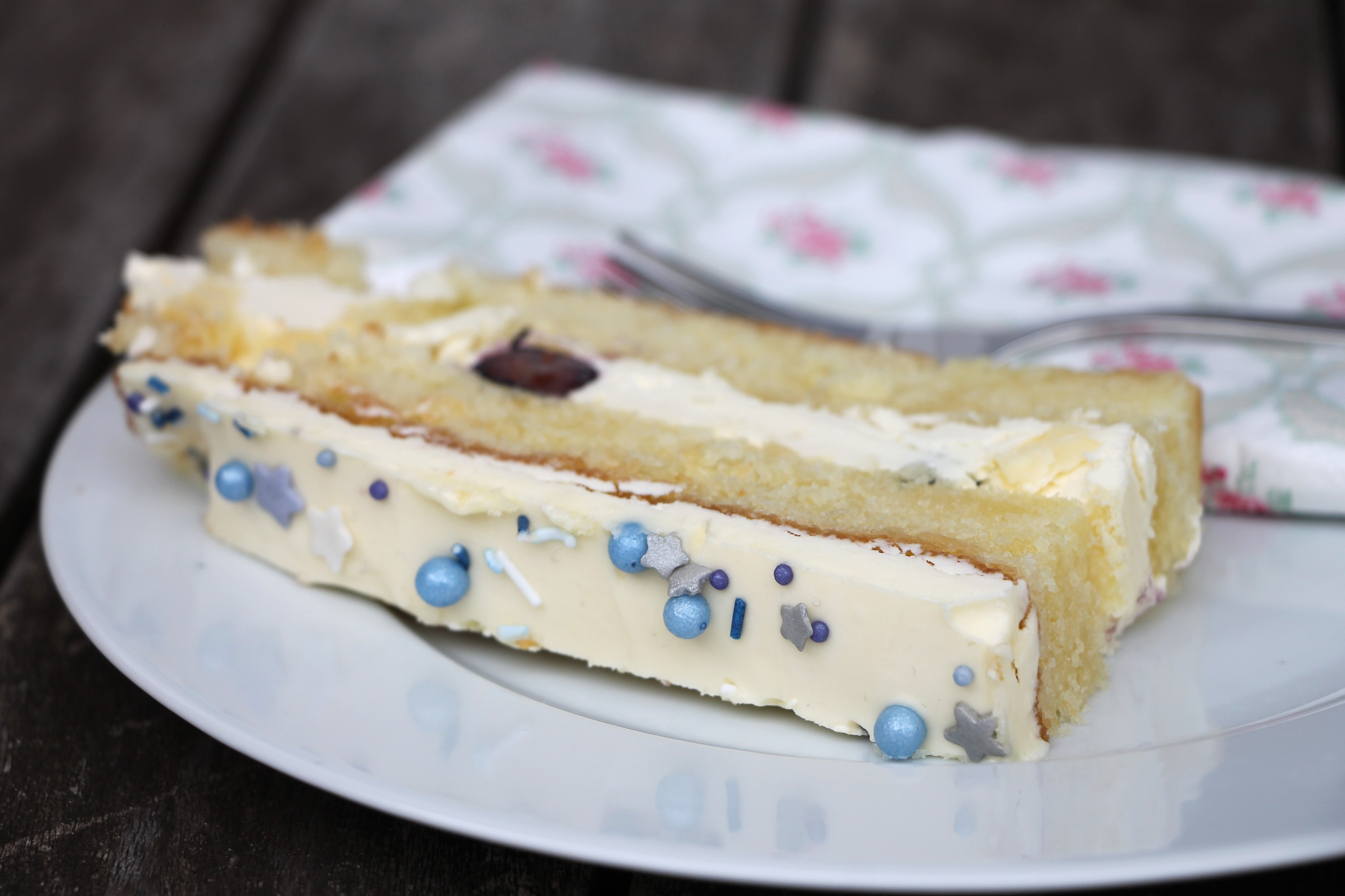 Baby Shower Torte Idee Lavendelblog