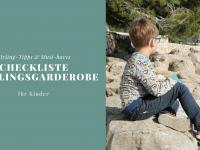 Checkliste: Frühlingsgarderobe für Kinder