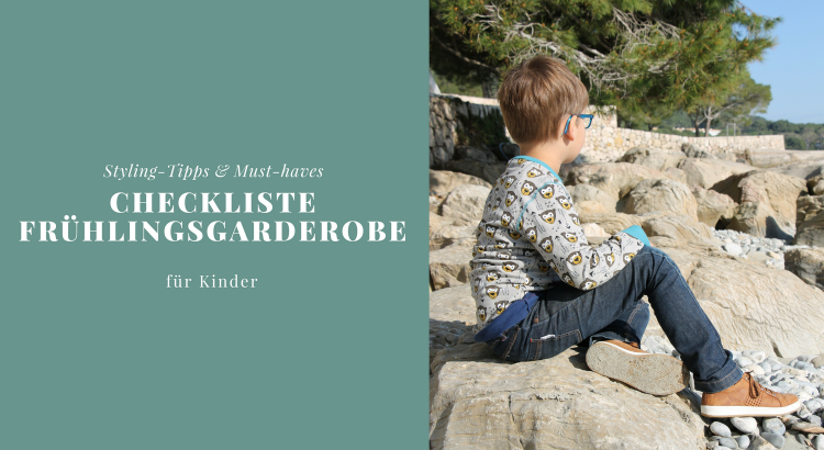 Checkliste Frühlingsgarderobe für Kinder