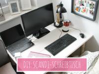 Scandi-Schreibtisch selber bauen: Anleitung für einen gemütlichen Arbeitsplatz im Schlafzimmer