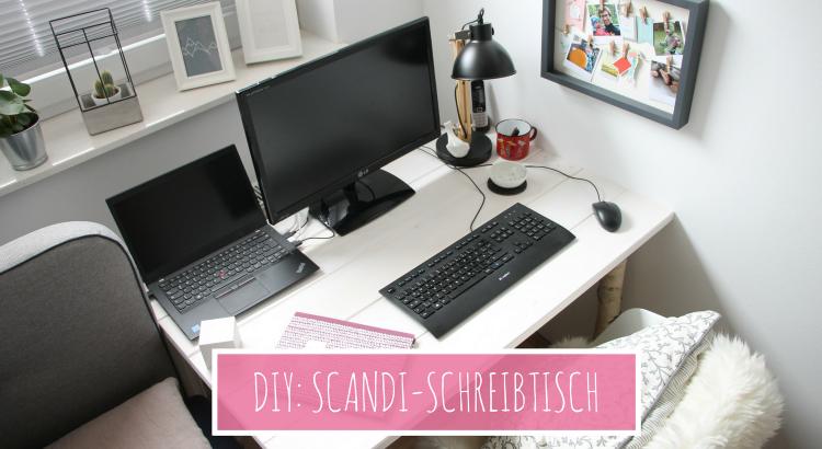 DIY Skandi-Schreibtisch selber bauen