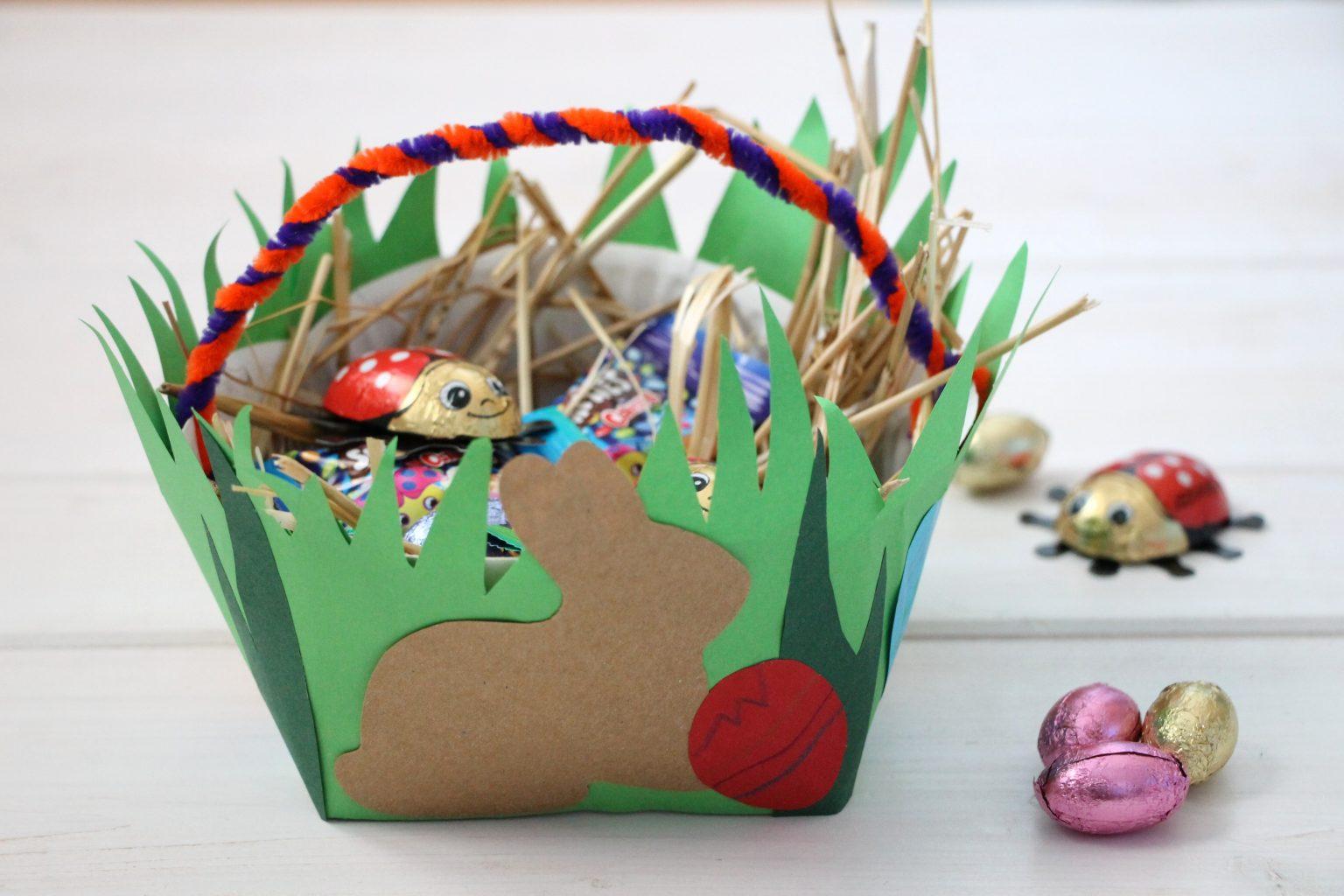 Geschenkkörbchen Ostern Idee