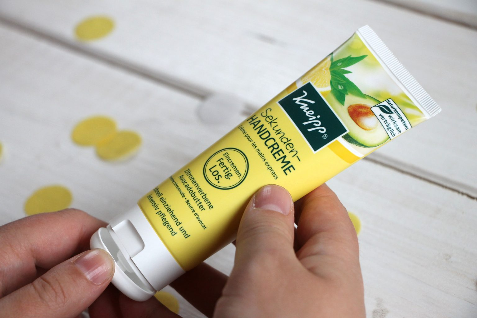 Hautpflege Winter Tipps - Kneipp Sekunden-Handcreme
