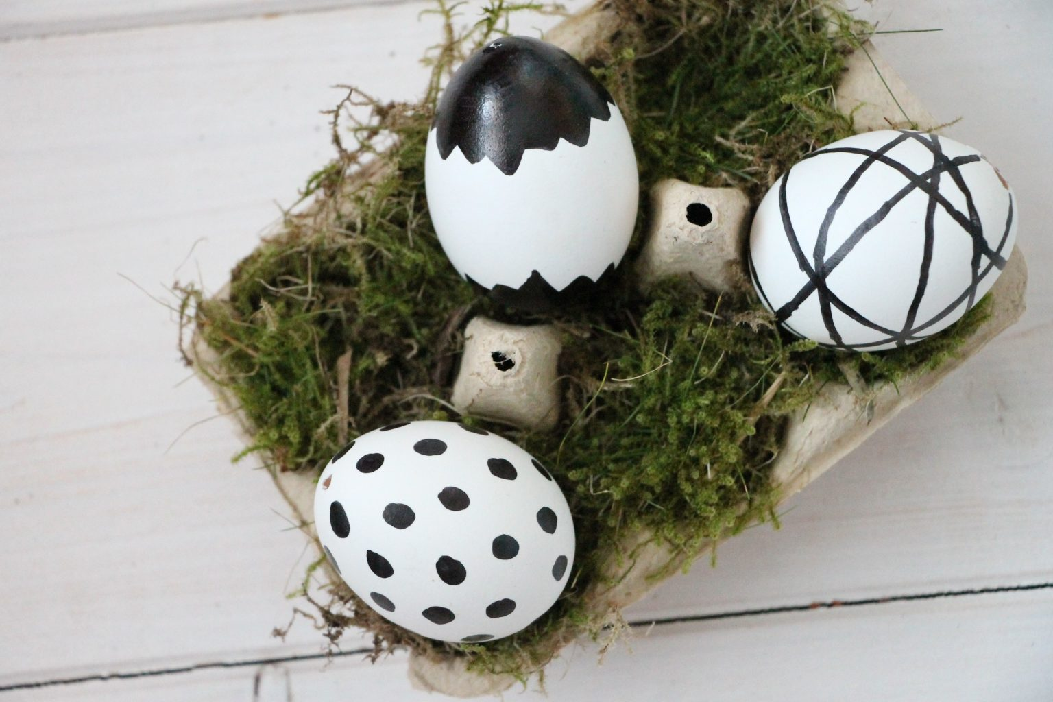 Ostereier im Skandi-Style Ideen