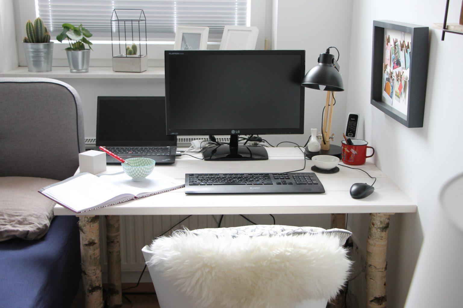 Scandi schreibtisch selber bauen anleitung f r einen for Schreibtisch diy