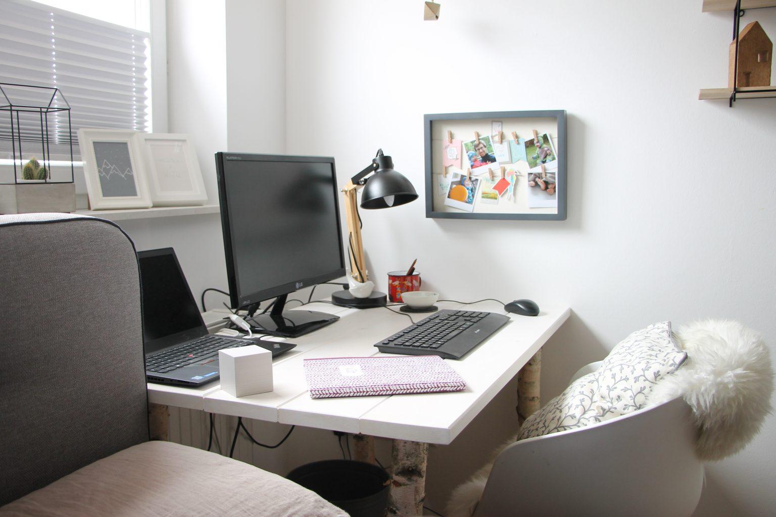 Schreibtisch bauen Anleitung