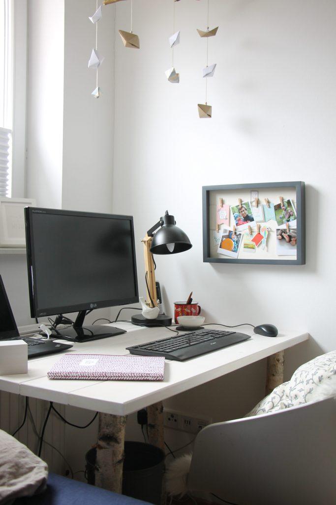 Schreibtisch günstig selber bauen