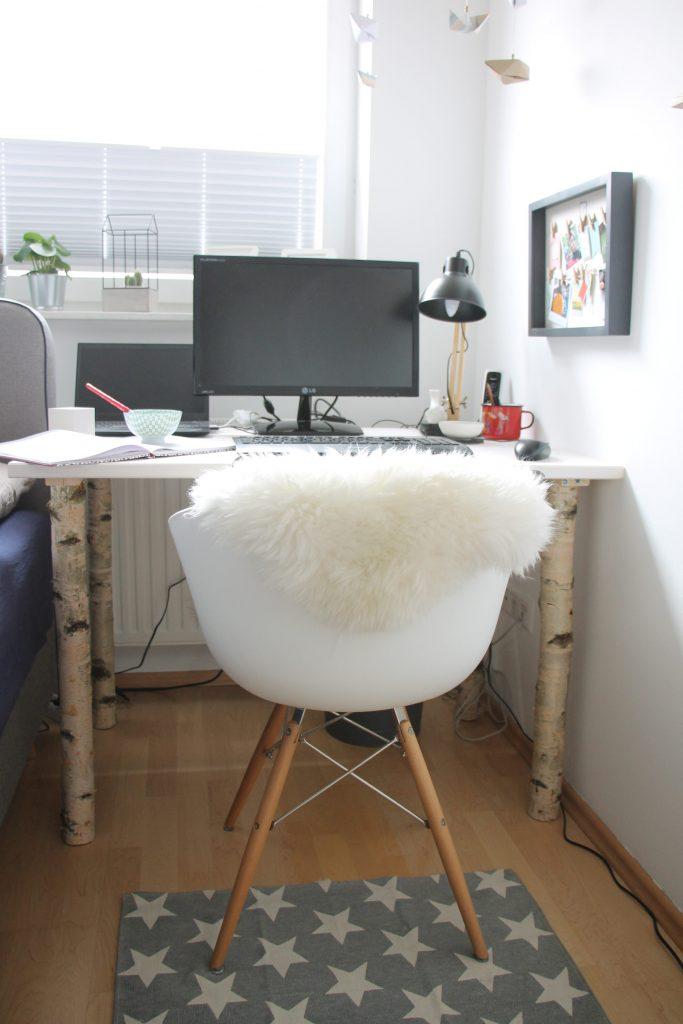 Schreibtisch selber bauen Anleitung