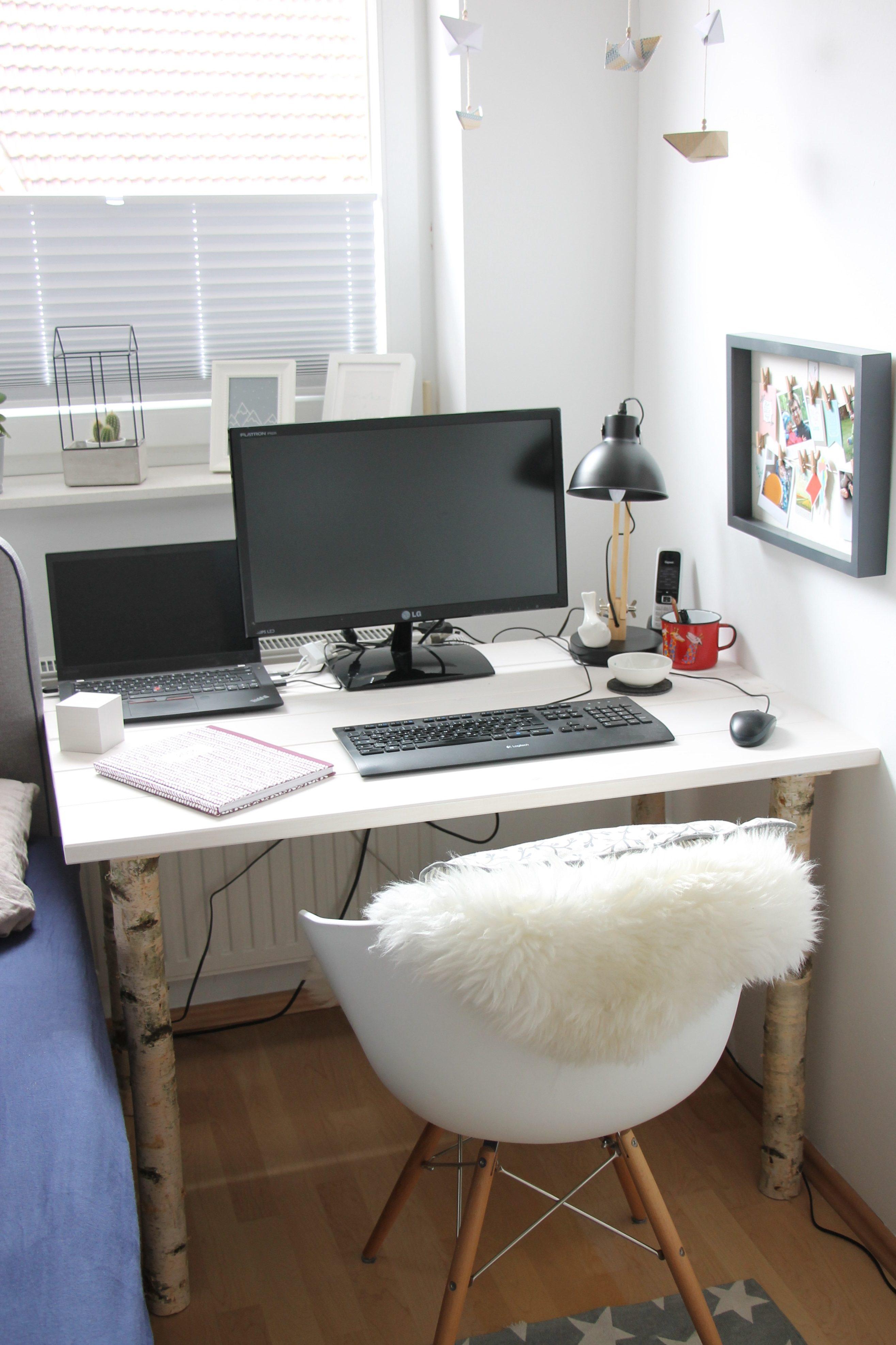Schreibtisch Skandinavischer Stil Lavendelblog