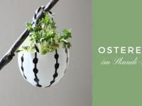 Skandinavische Osterdeko: Ostereier im Skandi-Style