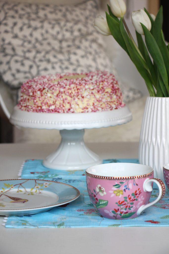 Torte rosa Rezept