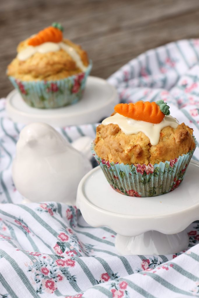 Apfel-Möhren-Muffins Rezept