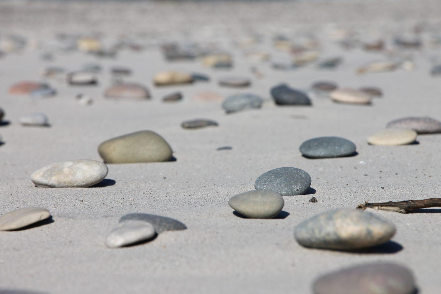 Dänemark Strand Steine