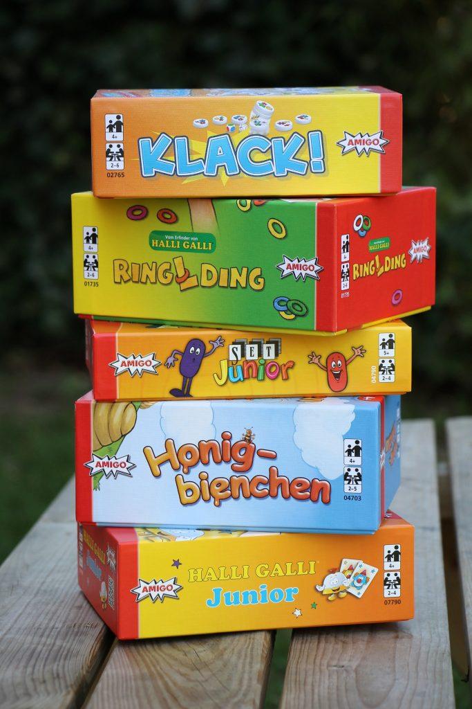 Gesellschaftsspiele für Kindergartenkinder Empfehlungen
