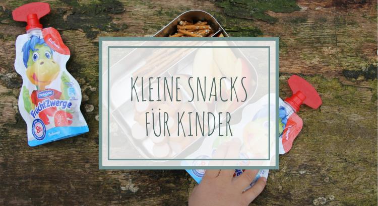 Snacks für Kleinkinder Ideen