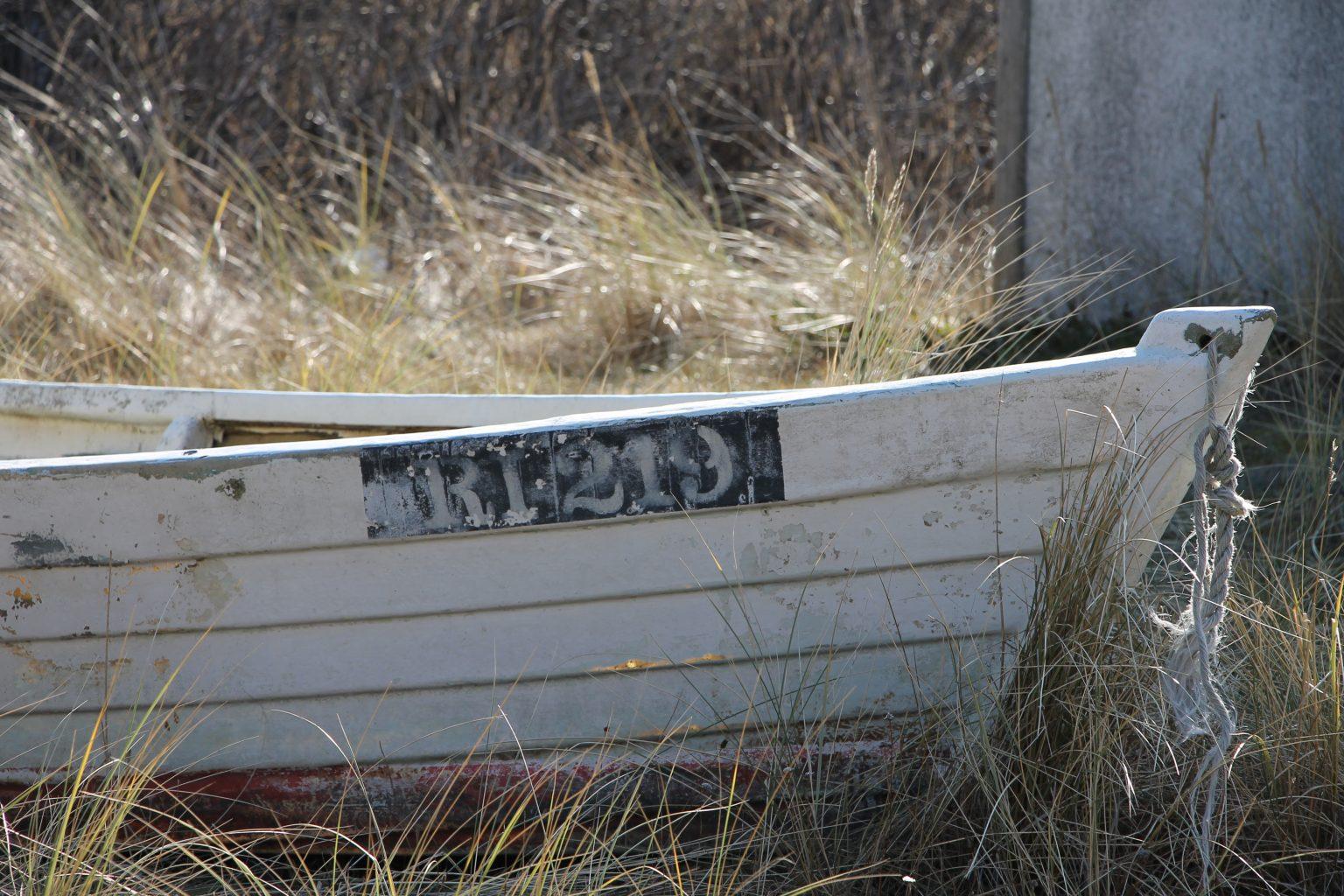 altes Fischerboot Hvide Sande