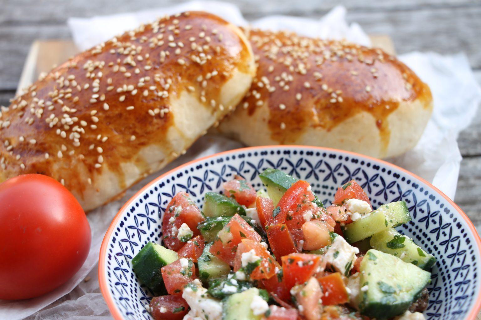 Rezept: Poğaça - Türkische Teigtaschen mit Schafskäse - Lavendelblog