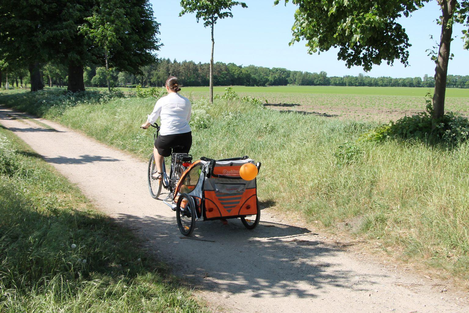 E-Bikes mit Fahrradanhänger nutzen - A.T.U E-Bikes