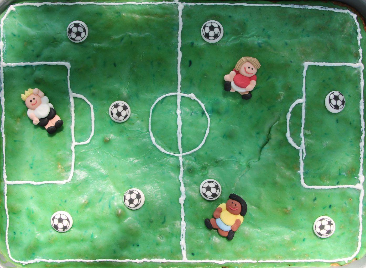 Fußballkuchen Rezept OTTO