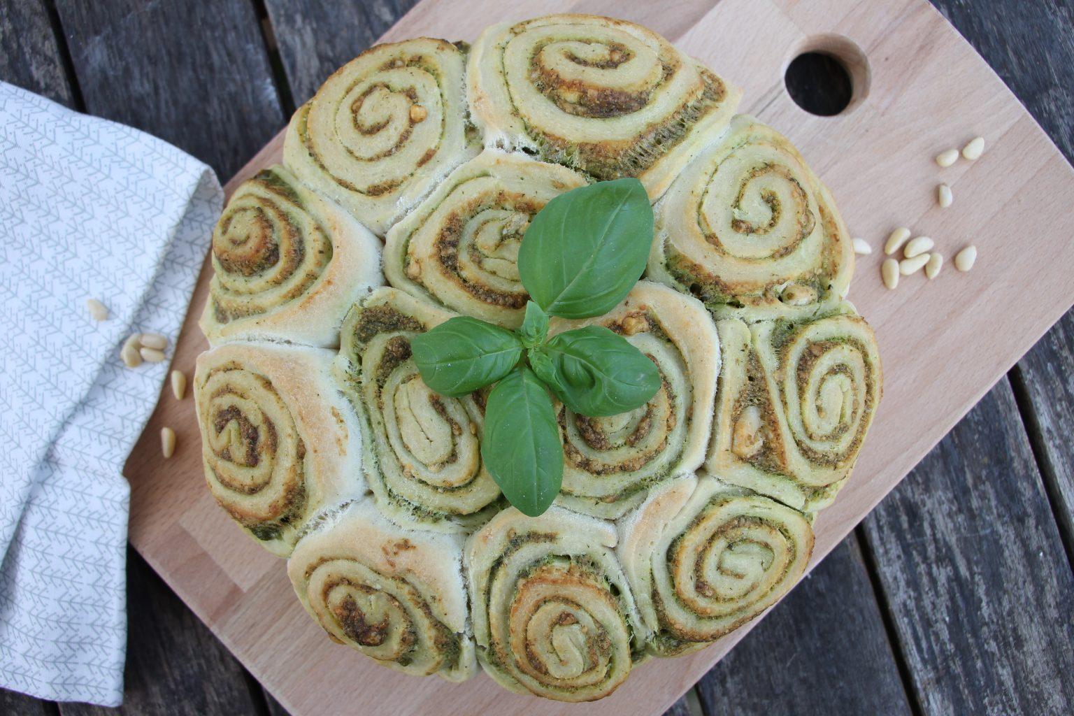 Grillbrot mit Pesto Rezept