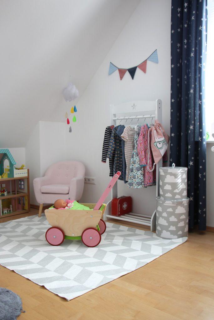Mädchen-Kinderzimmer stilvoll einrichten