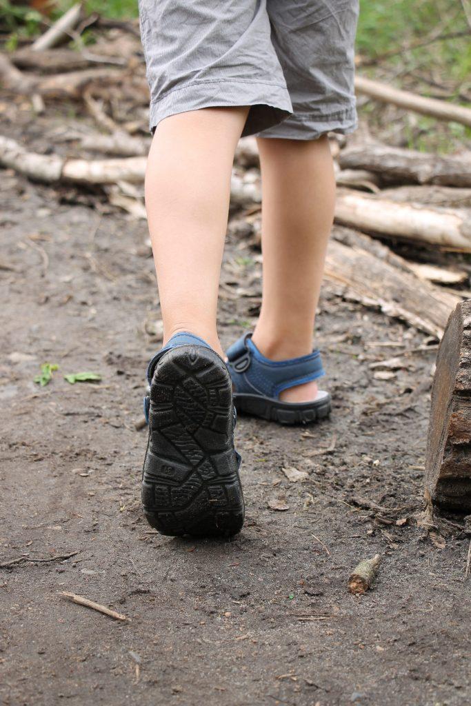 Outdoor-Sandalen Profil