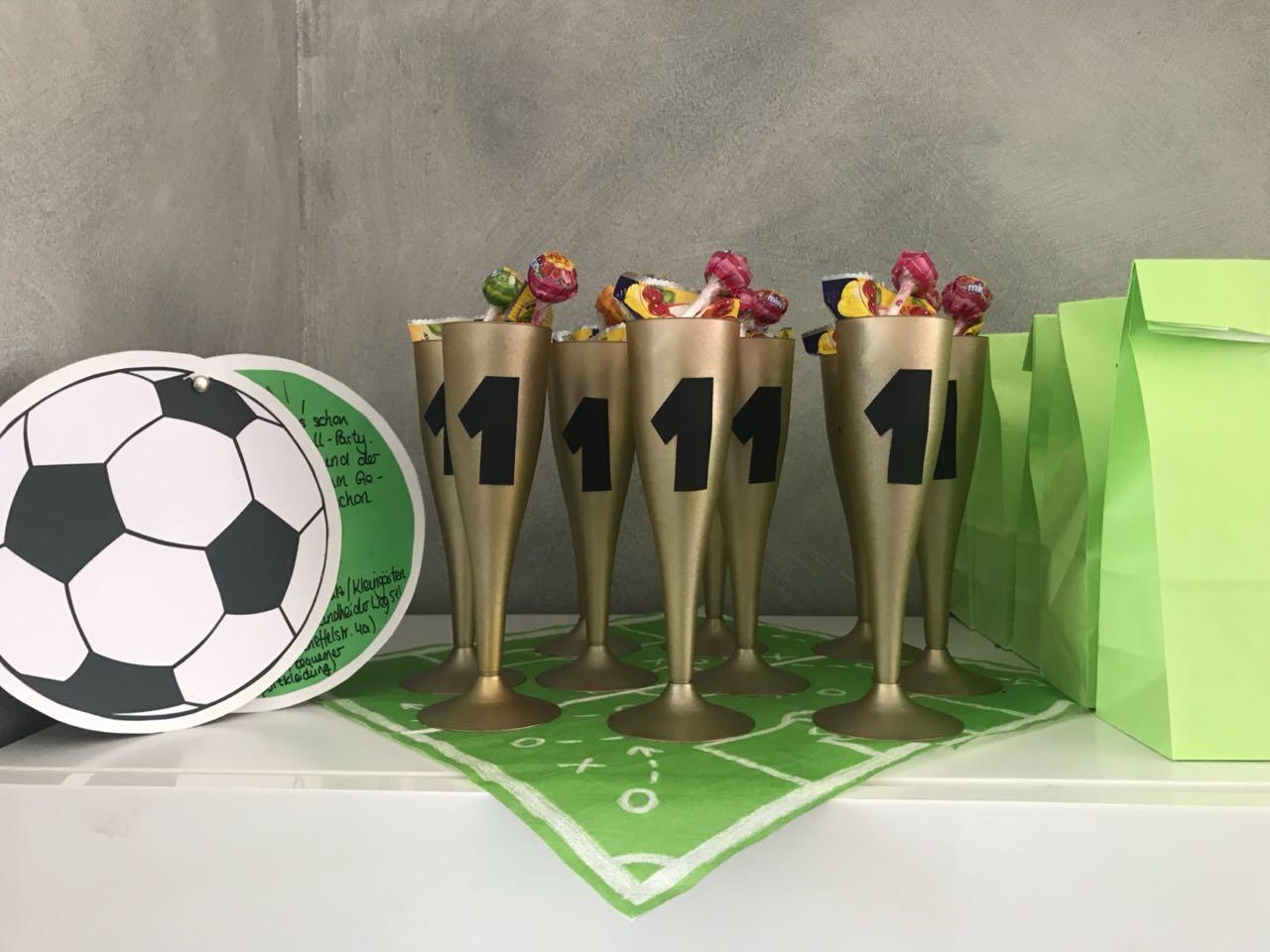 Fussballparty Kindergeburtstag Ideen Otto Lavendelblog