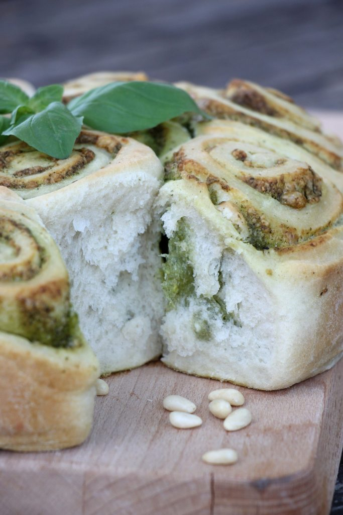 Rezept Pestobrot backen