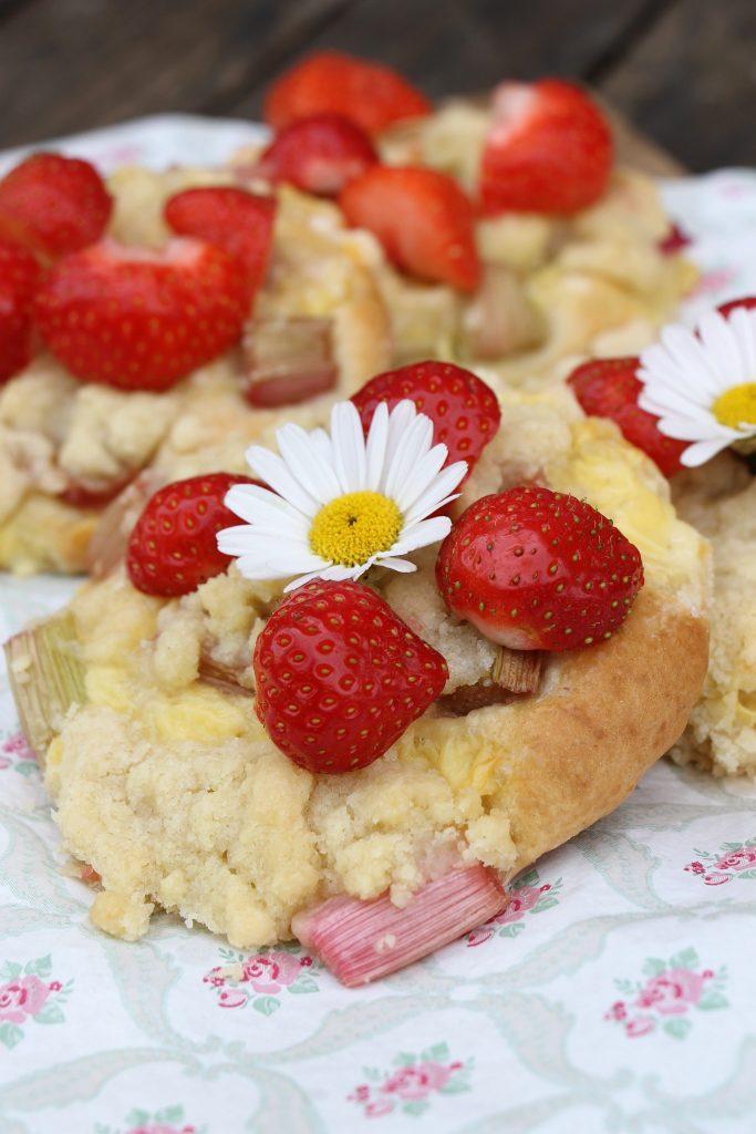 Rezept Pudding-Streuseltaler mit Obst