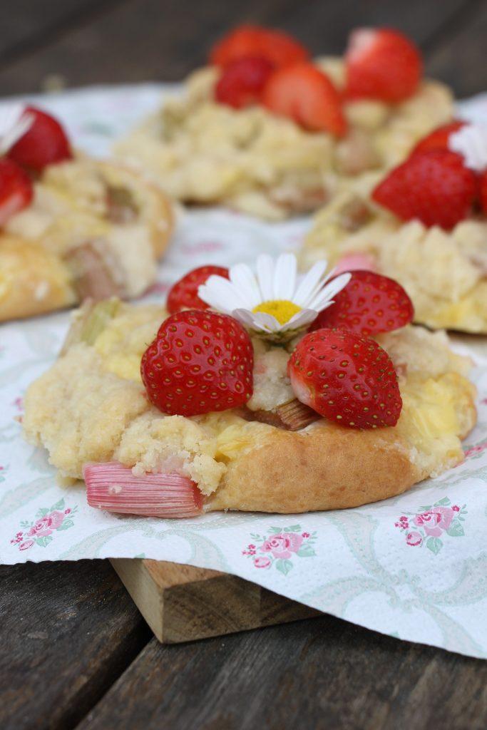 Rezept Streuseltaler Erdbeeren