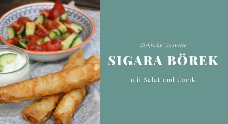 Sigara Börek: Rezept für eine typische türkische Vorspeise ...