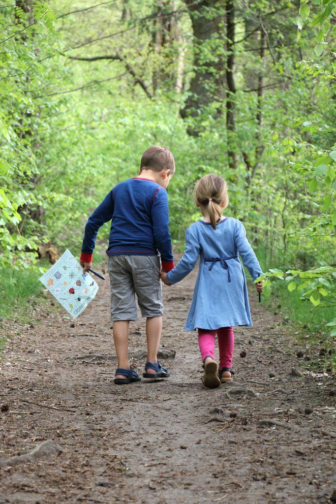Spaziergang mit Kindern ohne Meckern
