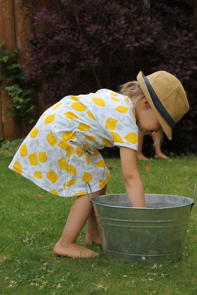 Zitronenprint Kleid Lily-Balou