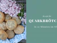Brötchen ohne Hefe backen: Schnelle Quarkbrötchen