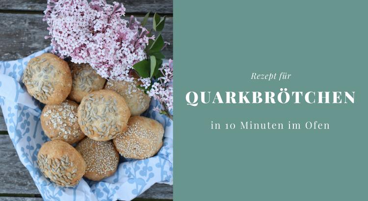 einfaches Brötchenrezept mit Quark