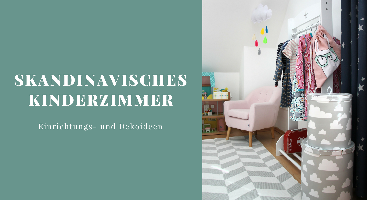 skandinavisches kinderzimmer f r m dchen ideen lavendelblog. Black Bedroom Furniture Sets. Home Design Ideas