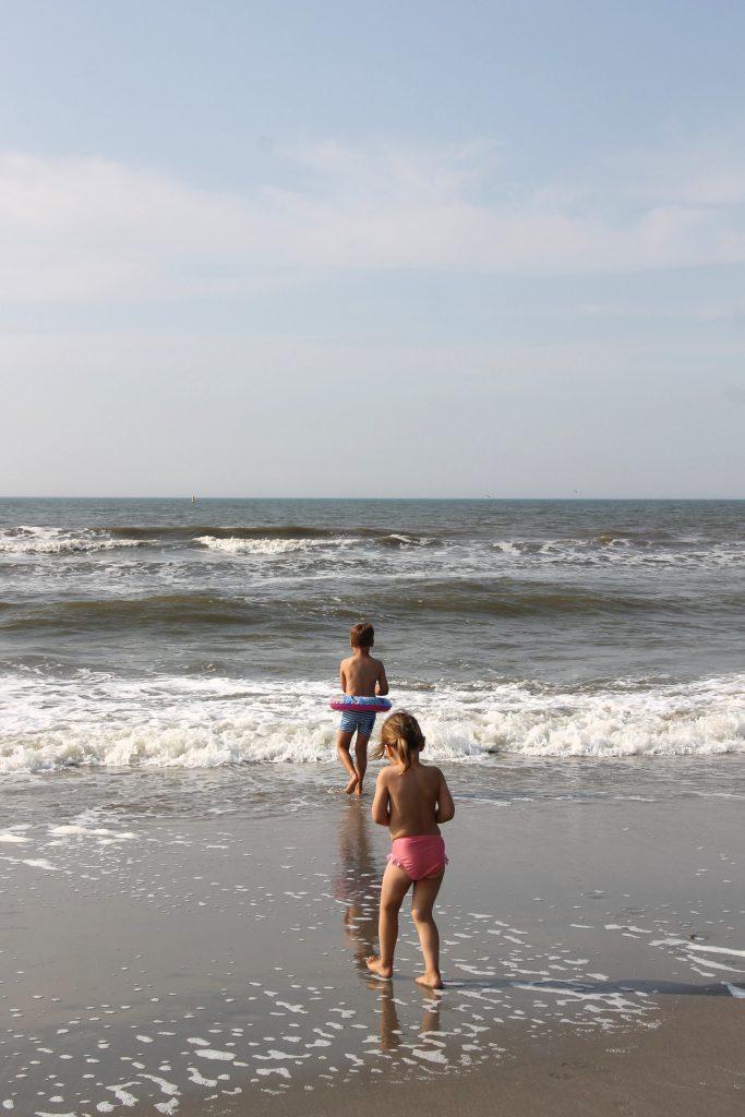 Baden in der Nordsee mit Kindern